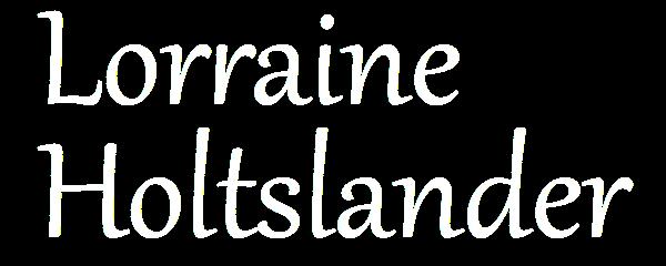 Lorraine Holtslander Research
